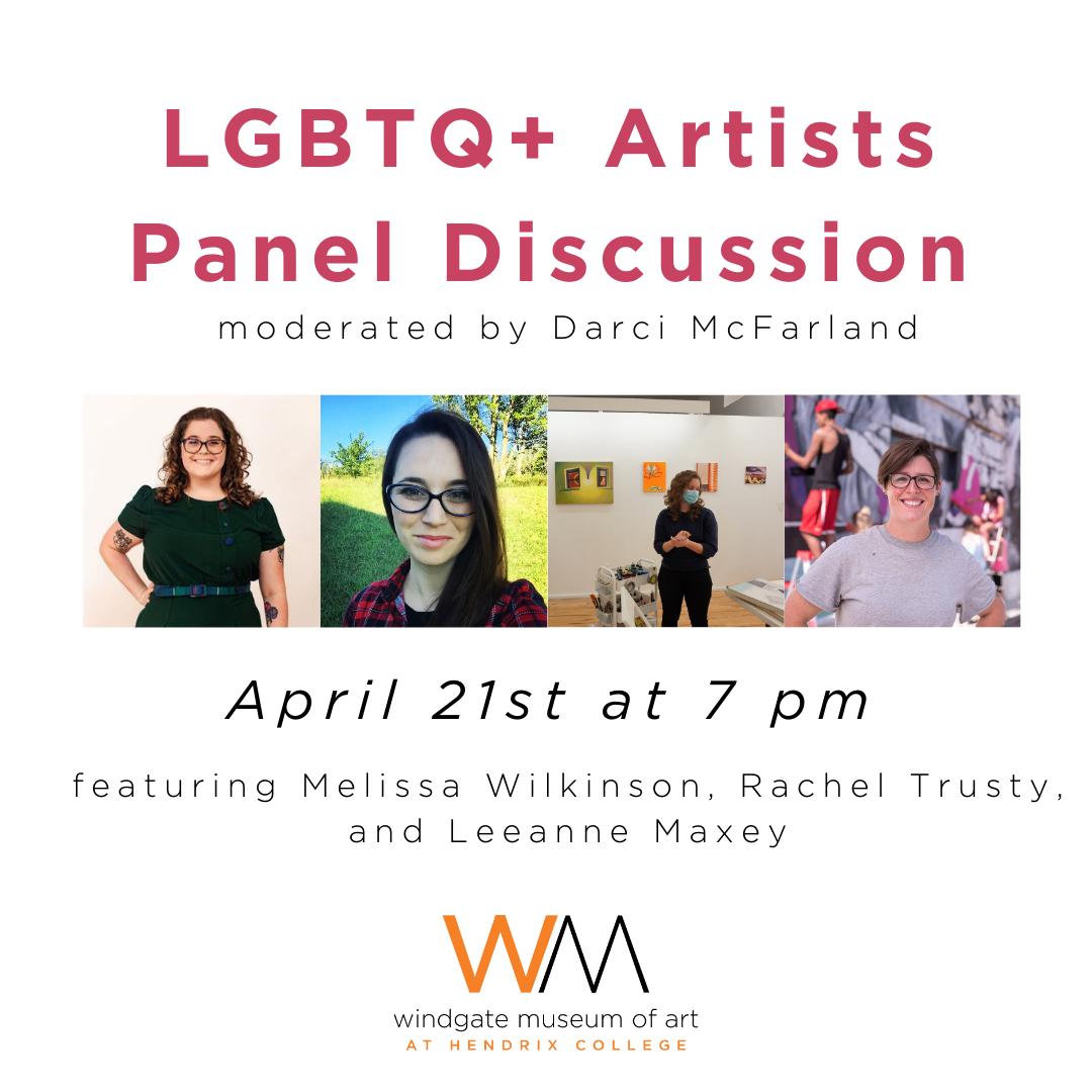 LGBTQ+ Artists Panel Discussion